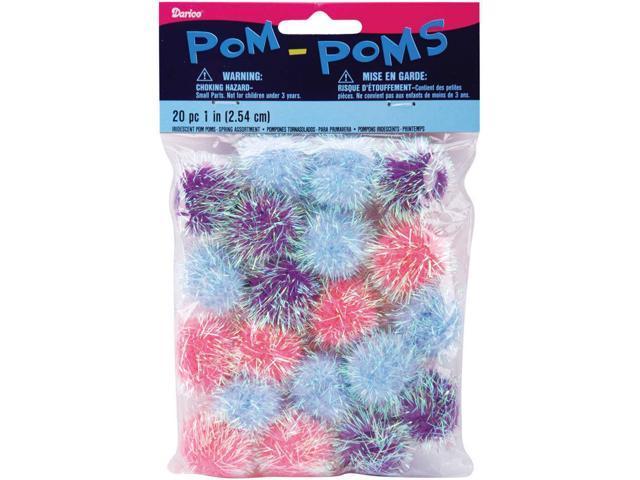 Iridescent Pom-Poms 1