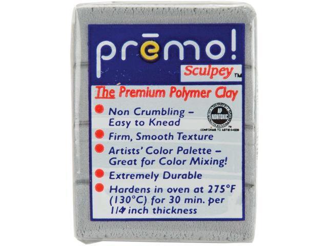 Premo Sculpey Accents Polymer Clay 2oz-Silver