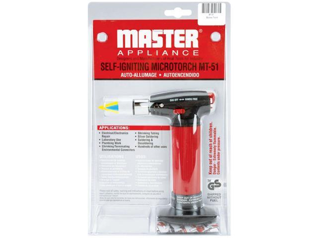 Master Appliance Self-Igniting Micro Torch-