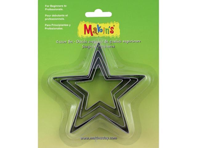 Makin's Clay Cutters 4/Pkg-Star