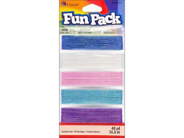 Fun Pack Stretch Cord 25yd-Sparkle