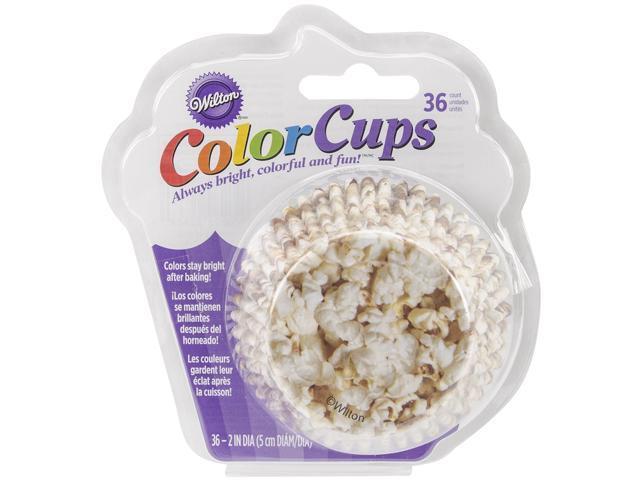 Colorcup Standard Baking Cups-Popcorn 36/Pkg