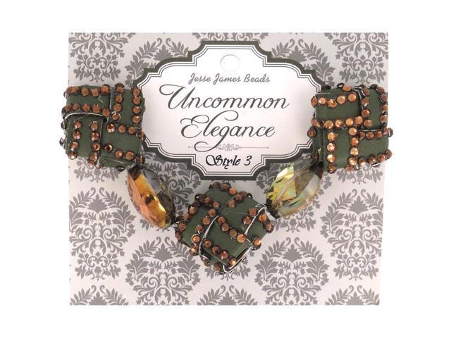 Uncommon Elegance Beads 5/Pkg-Style 3