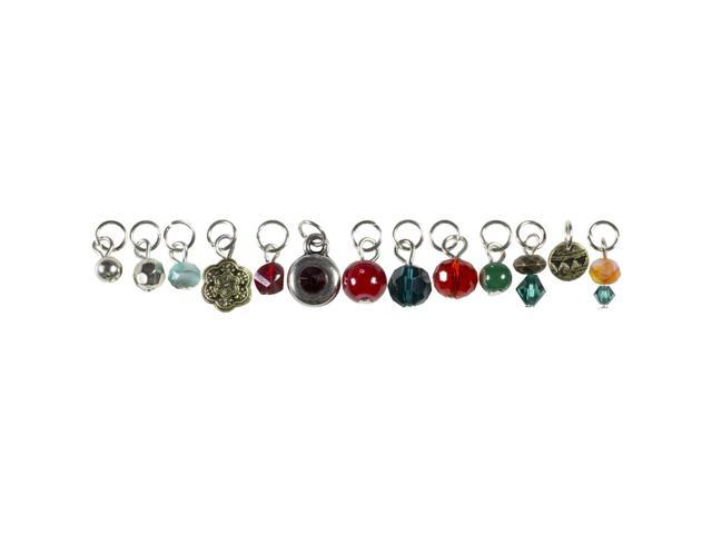 Tis The Season Charms-Red & Green Drops 13/Pkg