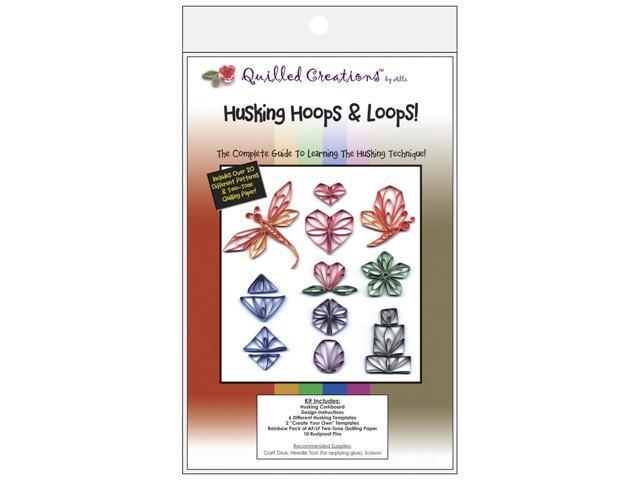 Quilling Kit-Husking Hoops & Loops