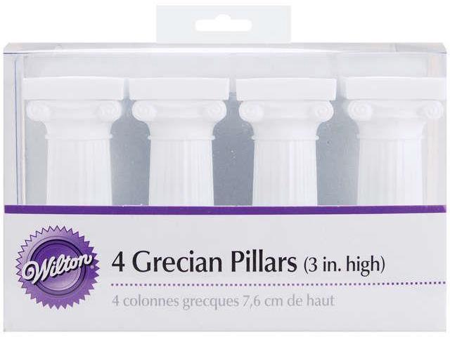 Grecian Pillars 4/Pkg-3