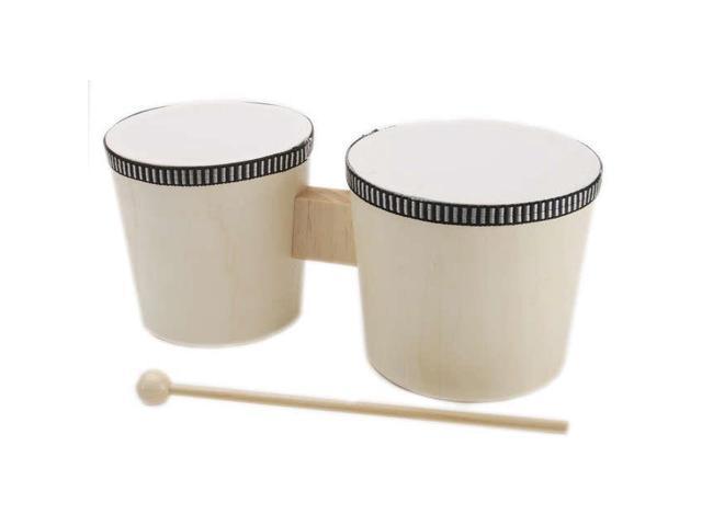 Wood Instrument-Bongo Drums 4.5