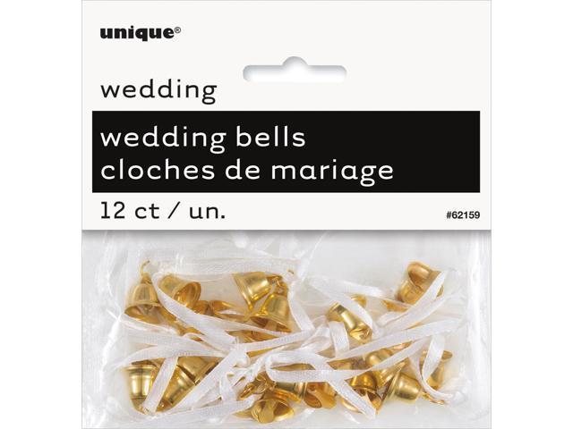 Wedding Bells 12/Pkg-Gold