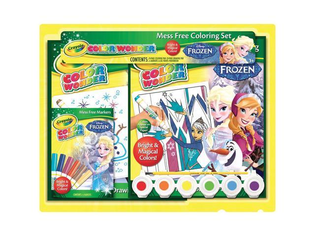 Crayola Color Wonder Activity Set-Disney Frozen