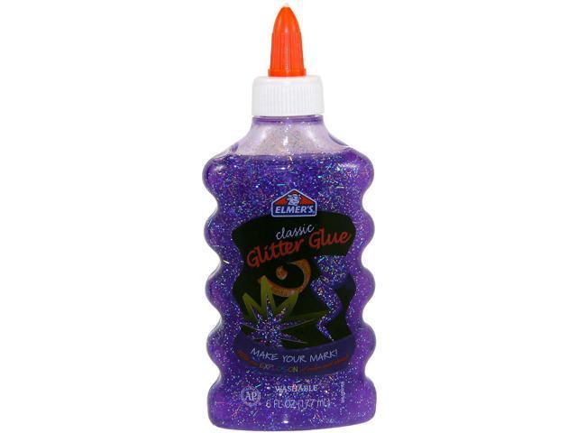 Elmer's Glitter Glue 6oz-Purple
