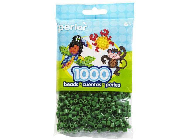 Perler Fun Fusion Beads 1000/Pkg-Dark Green