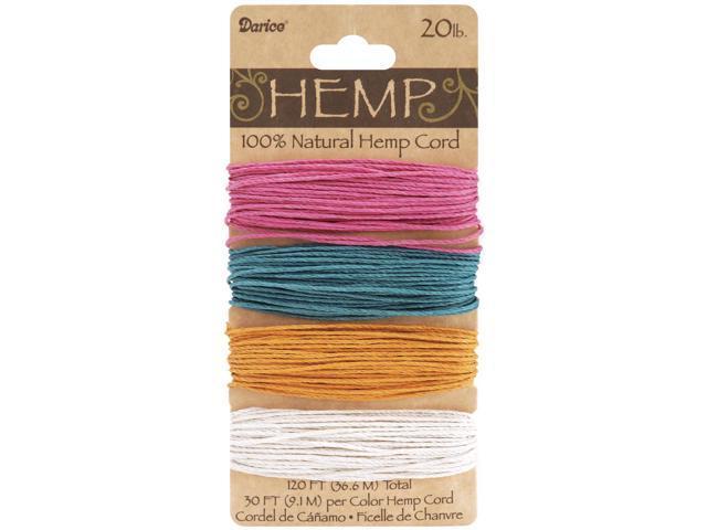 Hemp Cord 20lb 120'-Spring