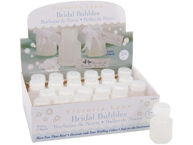 Victoria Lynn Bridal Bubbles .5oz Bottles 24/Pkg-