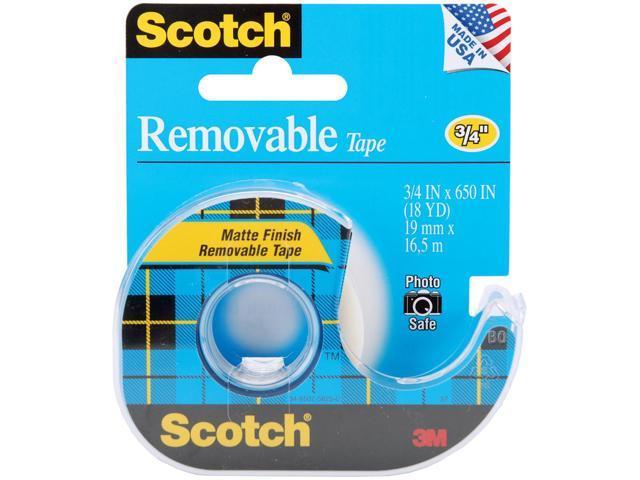 Scotch Removable Tape Matte-.75