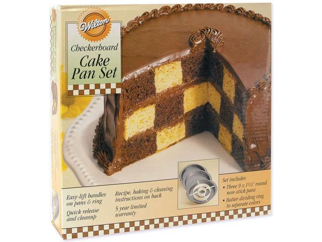 Checkerboard Cake Pan Kit-9