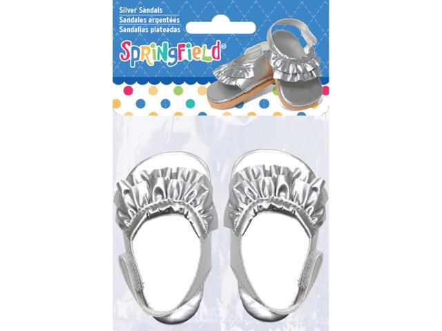 Springfield Collection Ruffled Flats-Silver