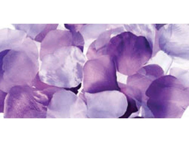 Victoria Lynn Satin Rose Petals 300/Pkg-Purple