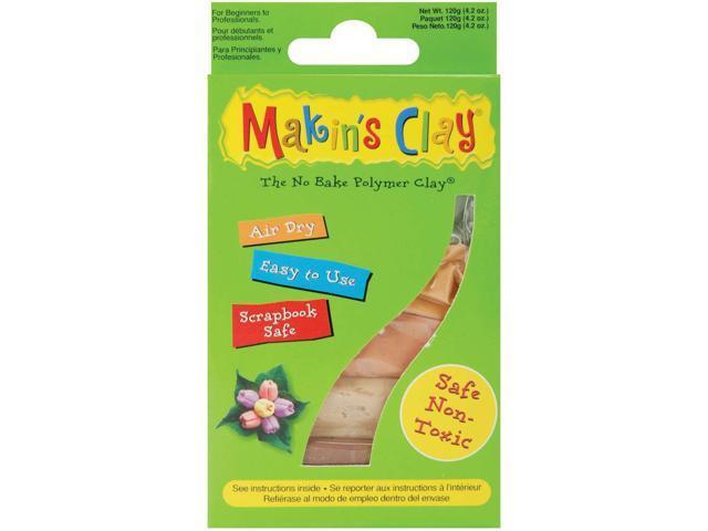 Makin's Clay Air-dry Clay 120g-Earth Tones