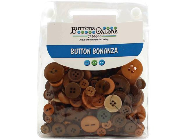 Buttons Galore Button Bonanza-Natural