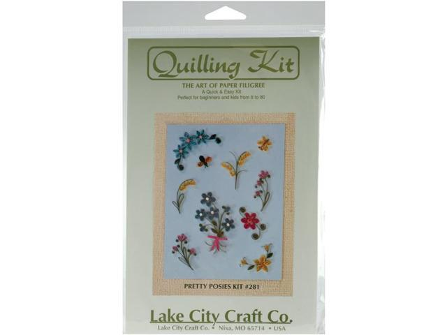 Quilling Kit-Pretty Posies