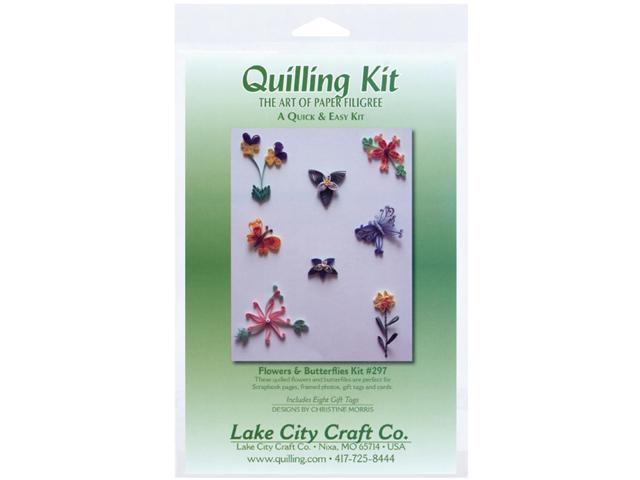 Quilling Kit-Flowers & Butterflies