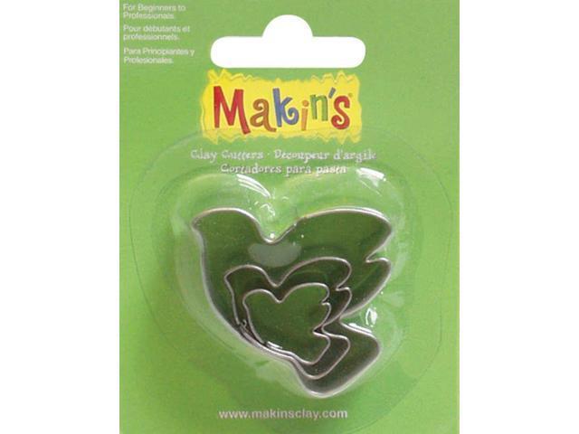 Makin's Clay Cutters 3/Pkg-Dove
