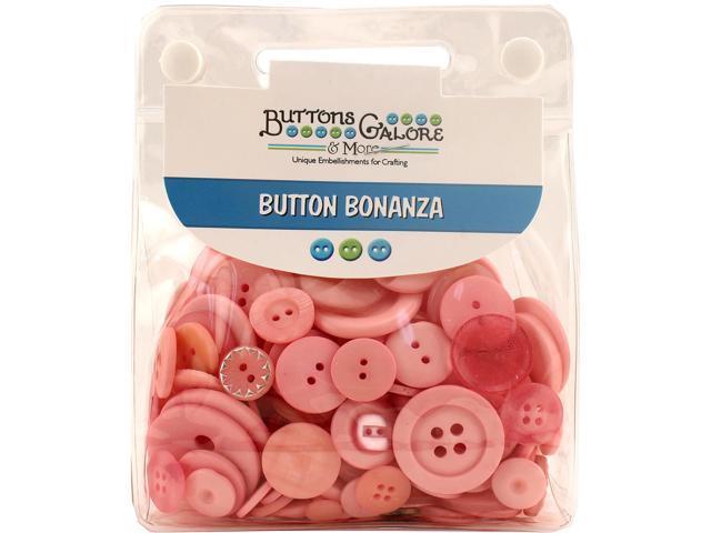 Buttons Galore Button Bonanza-Pink