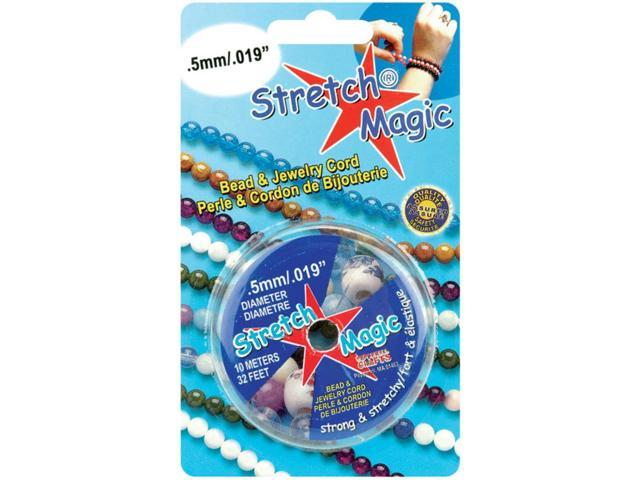 Stretch Magic Bead & Jewelry Cord .5mmX10m-Silver