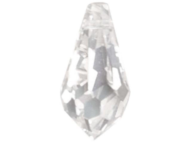Swarovski Crystal Facet Teardrops 11.5mmX5mm 3/Pkg-Crystal