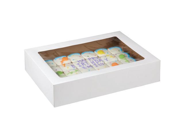 Corrugated Cake Box With Window 2/Pkg-19
