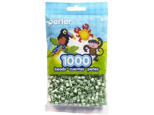 Perler Fun Fusion Pearl Beads 1000/Pkg-Green