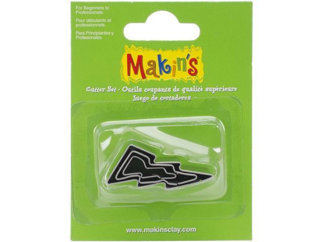 Makin's Clay Cutters 3/Pkg-Lightning Bolt