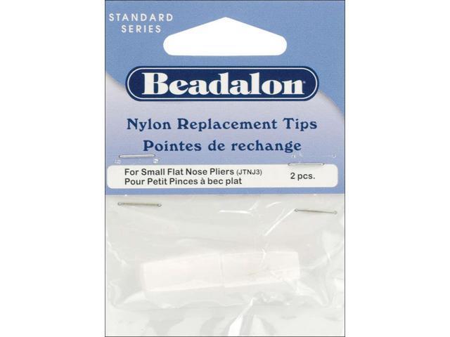 Nylon Flat Nose Pliers Replacement Tips 2/Pkg-.75