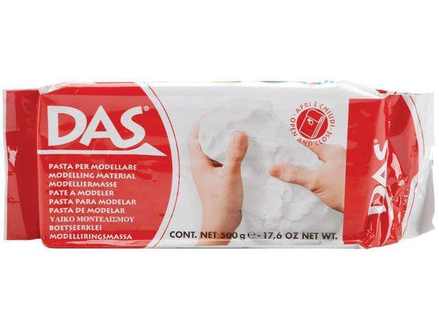 Das Air Dry Clay 17.6 Ounces-White