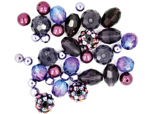 Design Elements Beads 28g-Plum Brulee