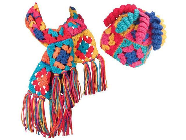 Granny Squares Crochet Kit-