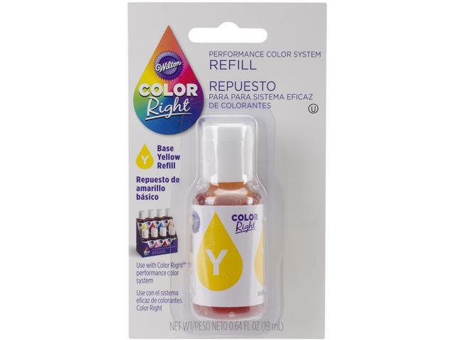 Color Right Performance Color System Refill .7oz-Yellow