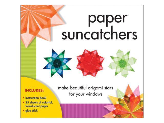 Sterling Publishing-Paper Suncatchers Kit