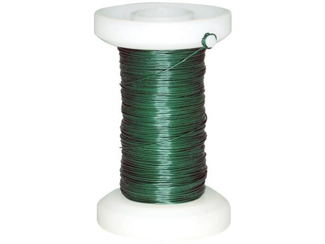 Spooled Floral Wire 30 Gauge 118'-Green