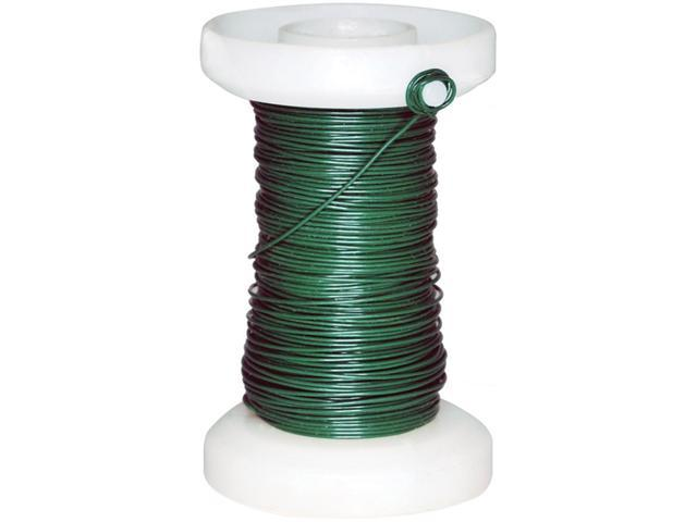 Spooled Floral Wire 26 Gauge 65'-Green