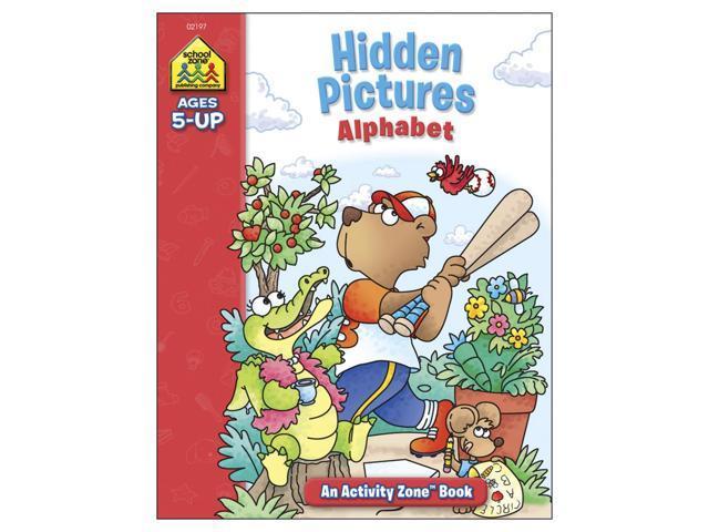 Activity Workbook-Hidden Pictures Alphabet - Ages 5+