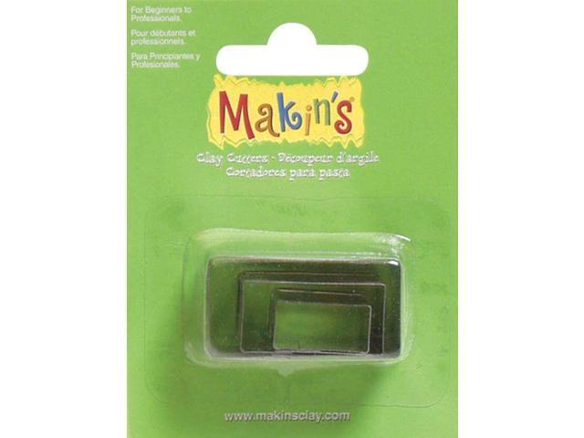 Makin's Clay Cutters 3/Pkg-Rectangle