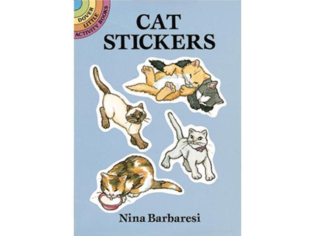 Dover Publications-Cat Stickers