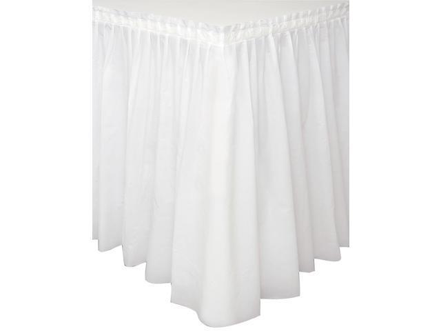 Plastic Tableskirt 14'X29