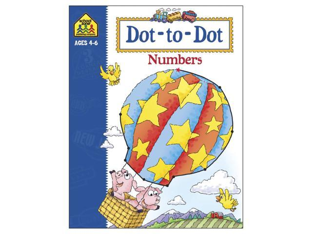 Activity Workbook-Dot-To-Dot Numbers - Ages 3-5