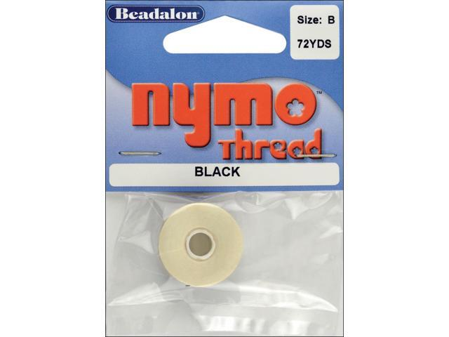 Nymo Thread .20X72yd-Black