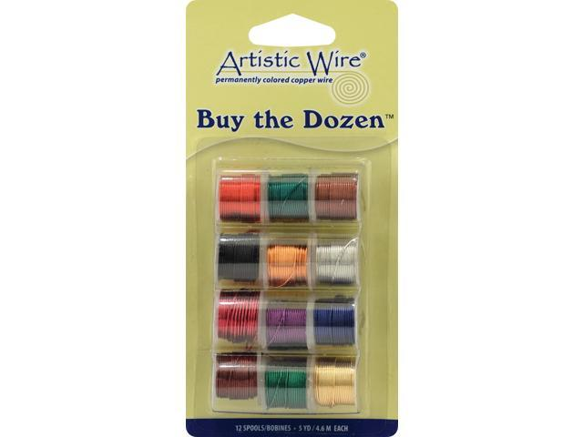 Artistic Wire Buy-The-Dozen 3yd 12/Pkg-26 Gauge