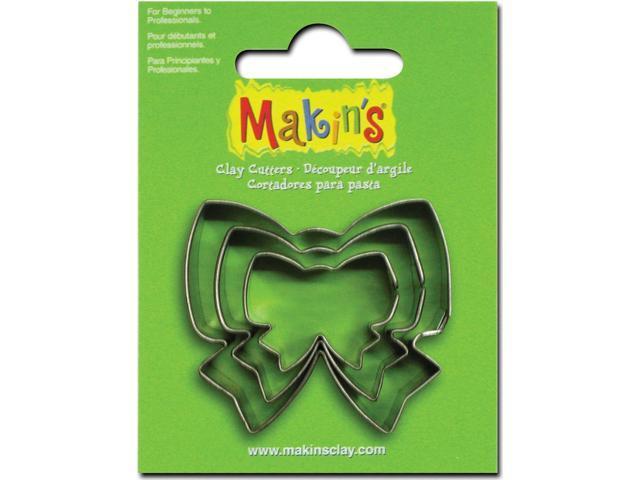 Makin's Clay Cutters 3/Pkg-Ribbon