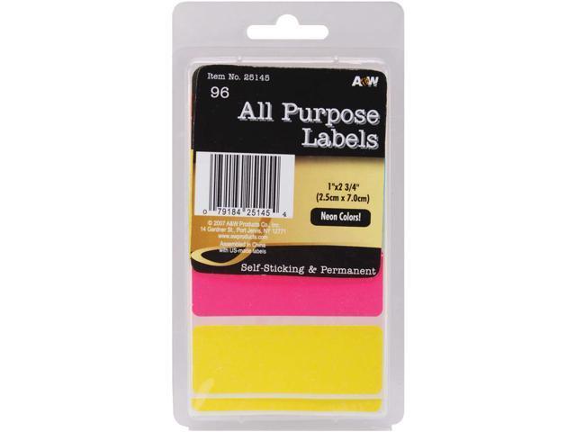 Labels-Neon All-Purpose 1