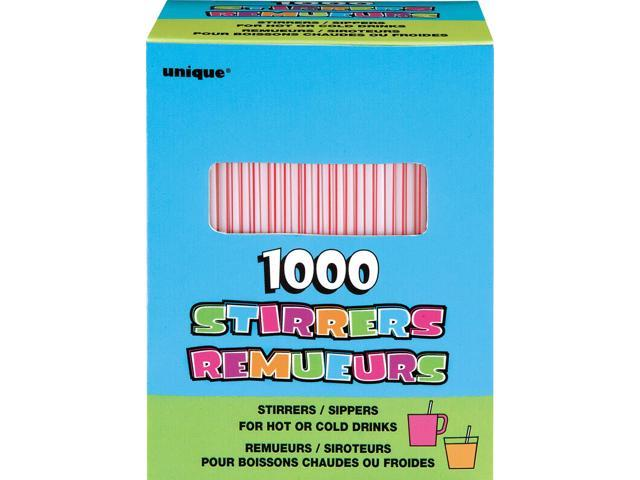 Stirrers 1000/Pkg-Striped